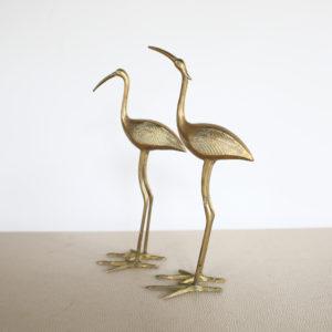 Brass herons